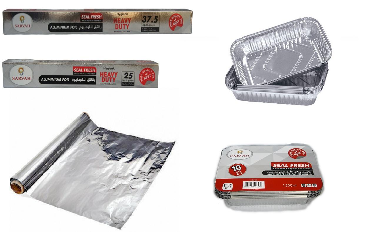aluminum foil & cont